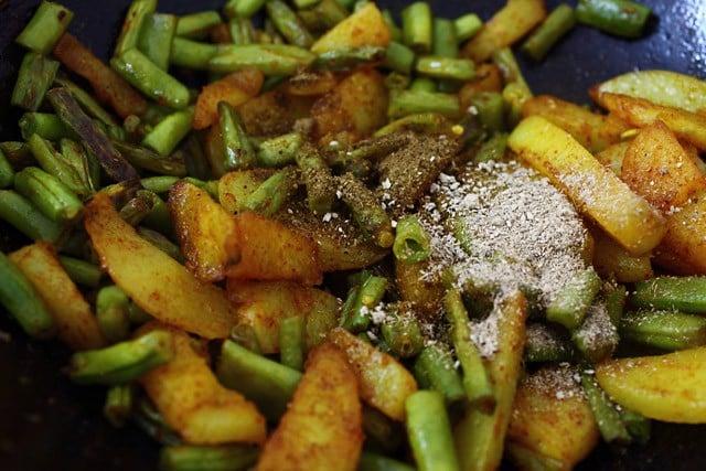 Cake Ki Recipe Kadai Mein: Aloo Beans Ki Sabzi Recipe