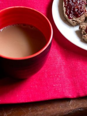 microwave tea chai