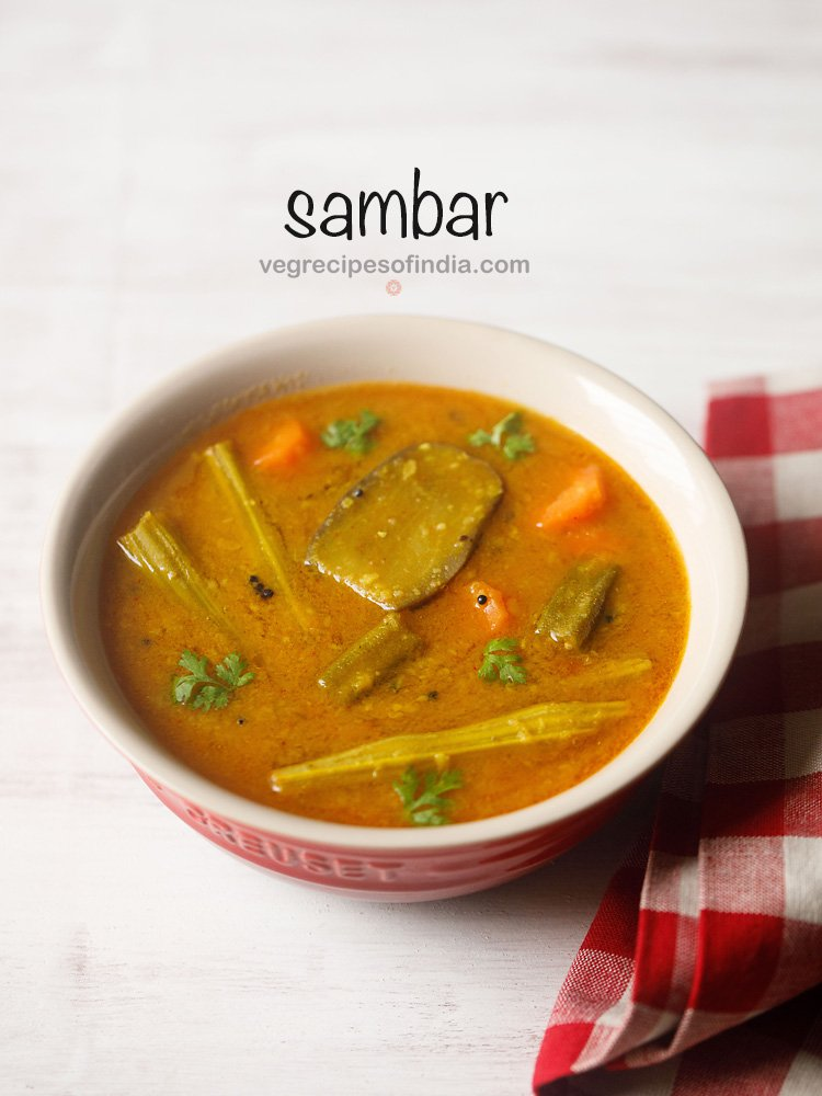 mix veg sambar recipe