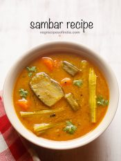 Sambar Recipe, How to make Sambar | South Indian Sambar Recipe