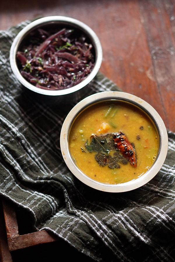 sambar recipe, vegetable sambar recipe