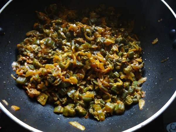 bhindi do pyaza recipe