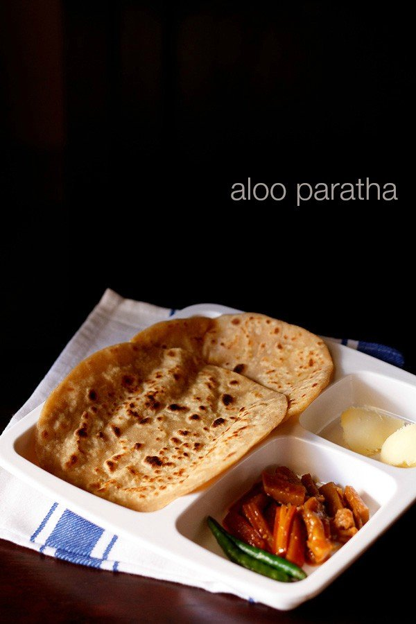 aloo paratha, how to make aloo paratha recipe | punjabi aloo paratha