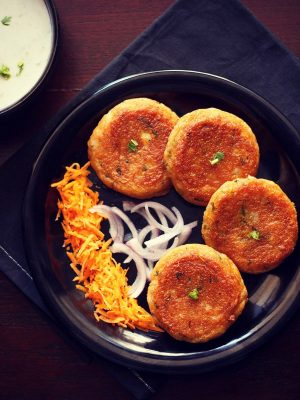 aloo tikki recipe, potato tikki recipe, alu pattice recipe
