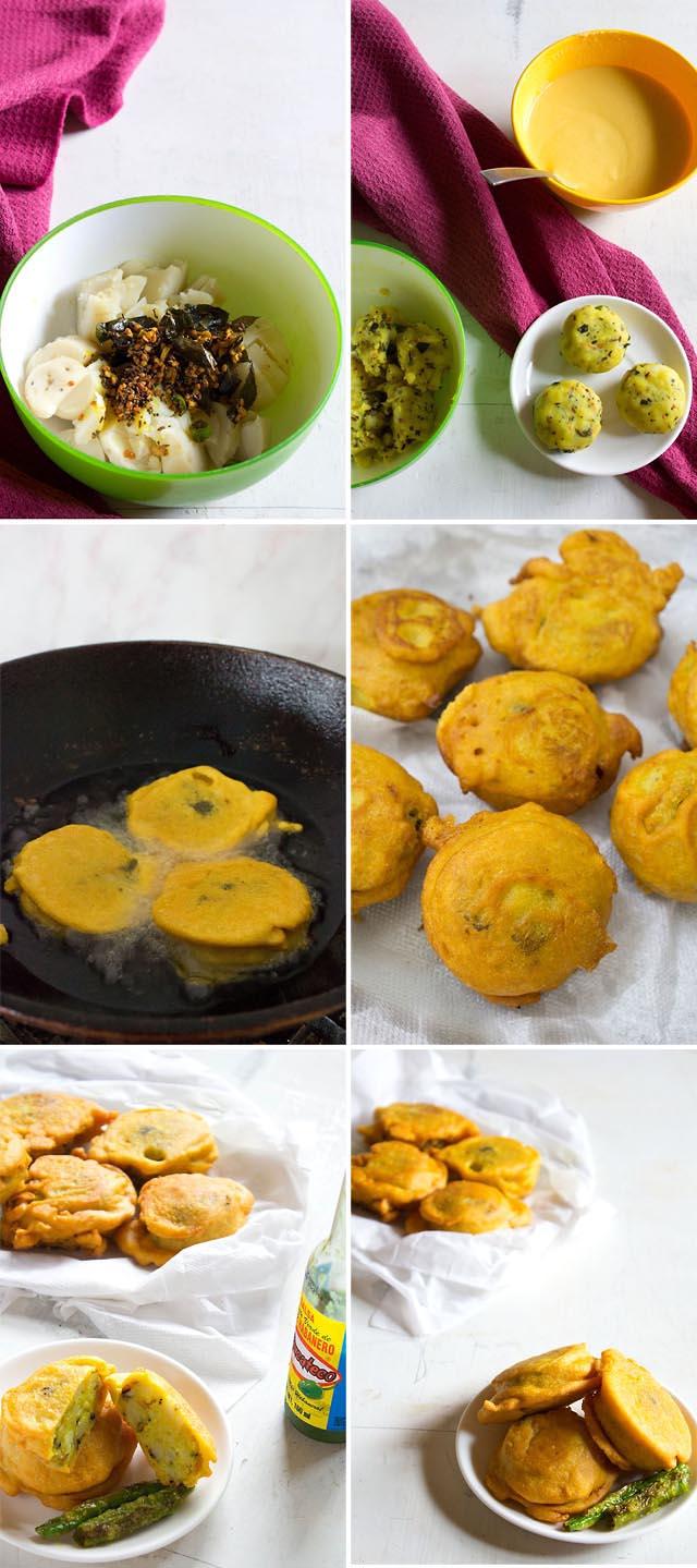batata vada preparation