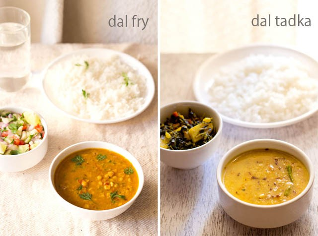 Difference between Dal Fry and Dal Tadka Recipes