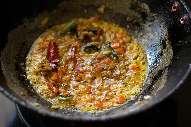 dal fry mixture