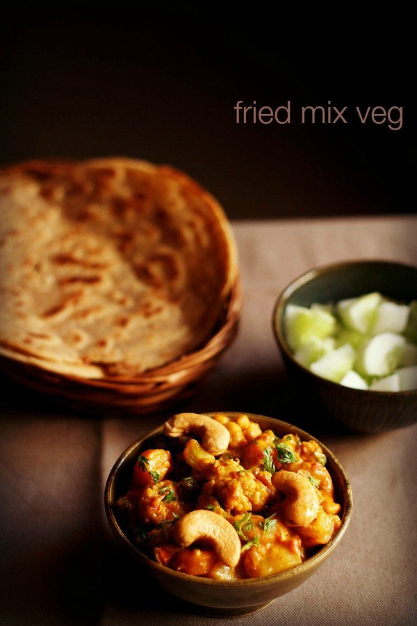 fried mix vegetable recipe, how to make mix vegetable recipe