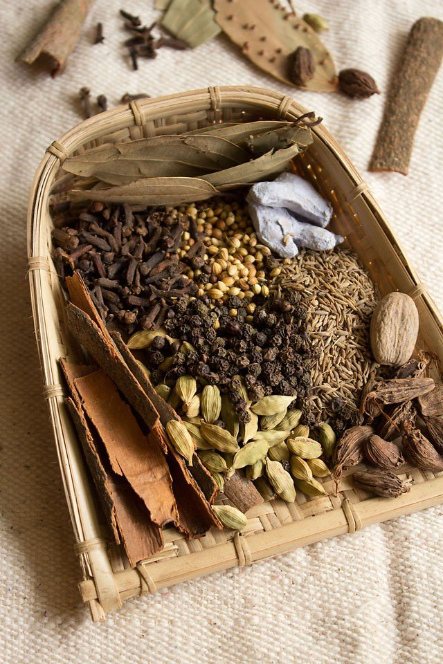 Indian Spices – Glossary of Indian Spices in English and Hindi