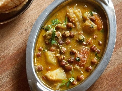 kala chana usal recipe