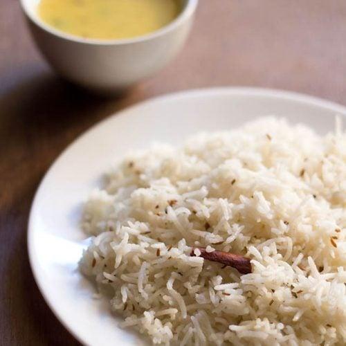 microwave jeera rice