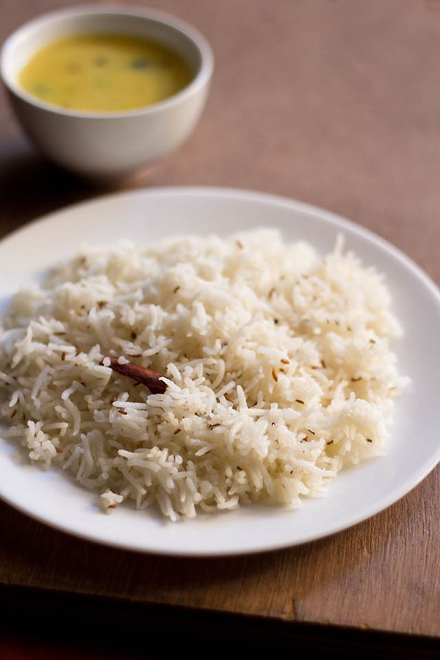 jeera rice in microwave