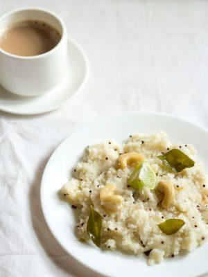 microwave upma recipe