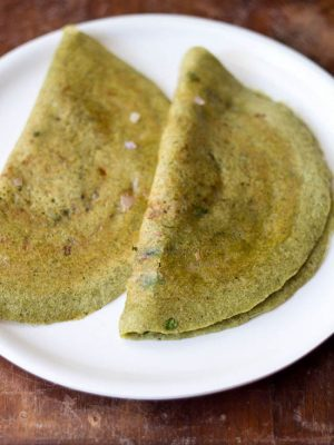 Pesarattu Recipe | Moong Dal Dosa Recipe | Andhra Pesarattu Dosa Recipe
