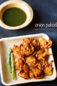 onion pakoda recipe, how to make onion pakoda | onion pakora recipe
