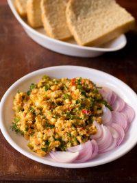 paneer bhurji recipe, how to make paneer bhurji | dry paneer bhurji