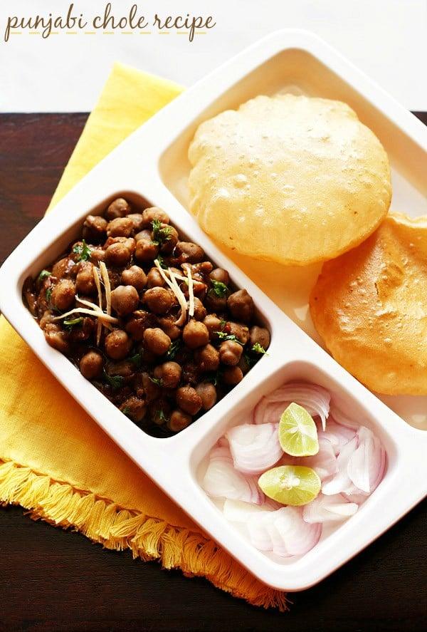 chole recipe – how to make chole masala or chana masala recipe