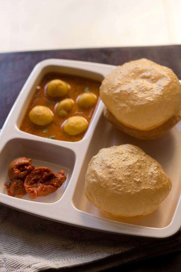 poori recipe, puri recipe, how to make poori