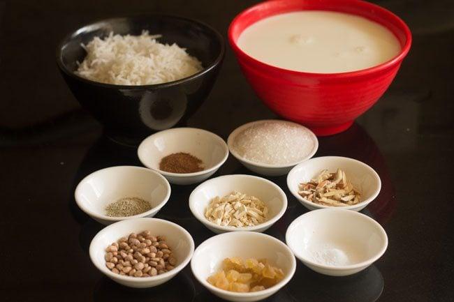 making rice pudding recipe