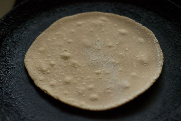 making phulkas roti recipe