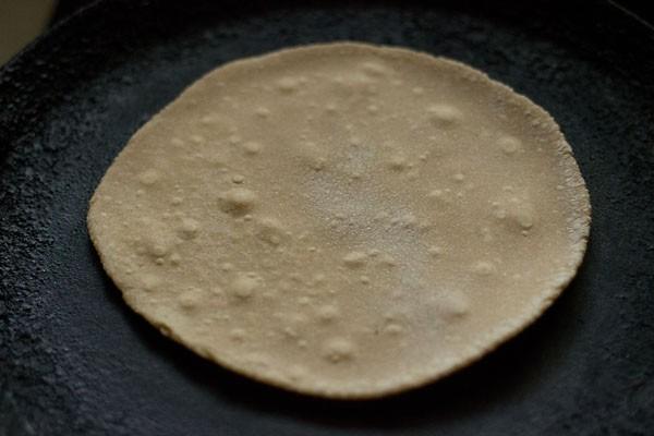 making phulkas roti recipe