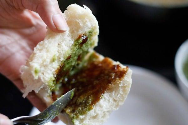 chutney for vada pav recipe
