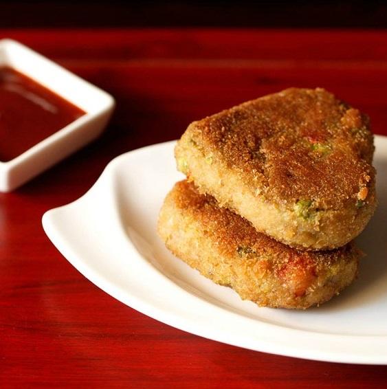 veg cutlet recipe, veg patties recipe, vegetable cutlet recipe