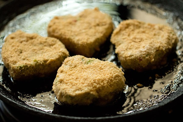 frying vegetable cutlet recipe
