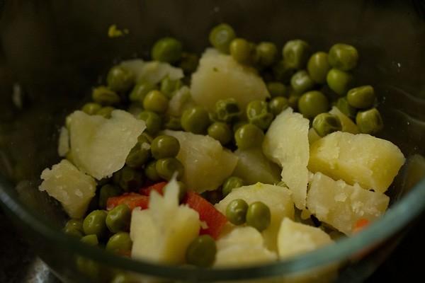 vegetables for veg cutlet recipe