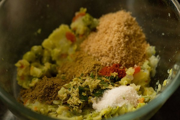 spices for vegetable cutlet recipe