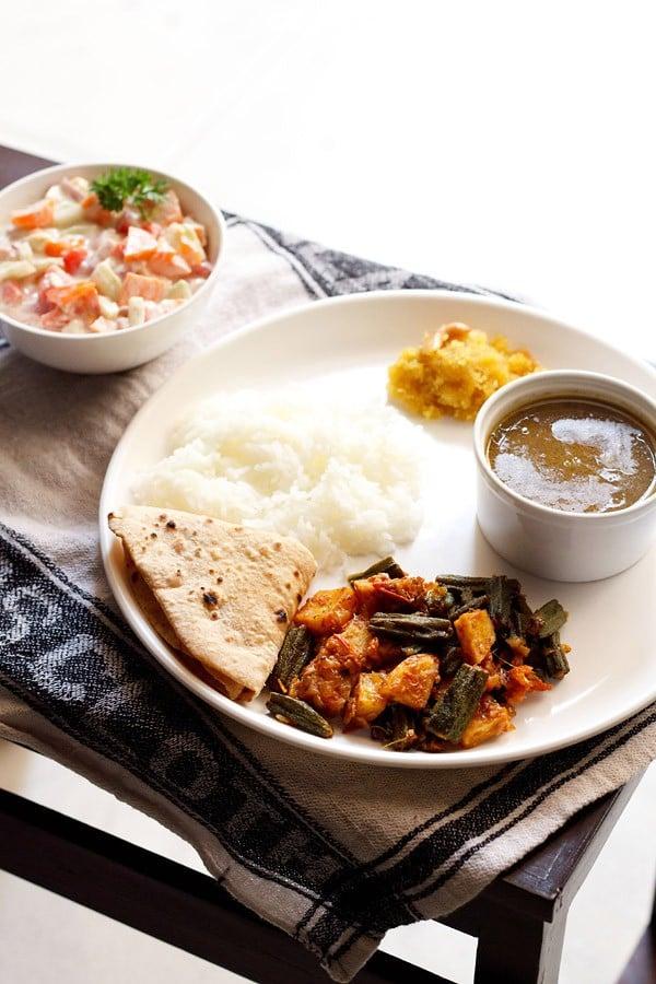 aloo bhindi recipe