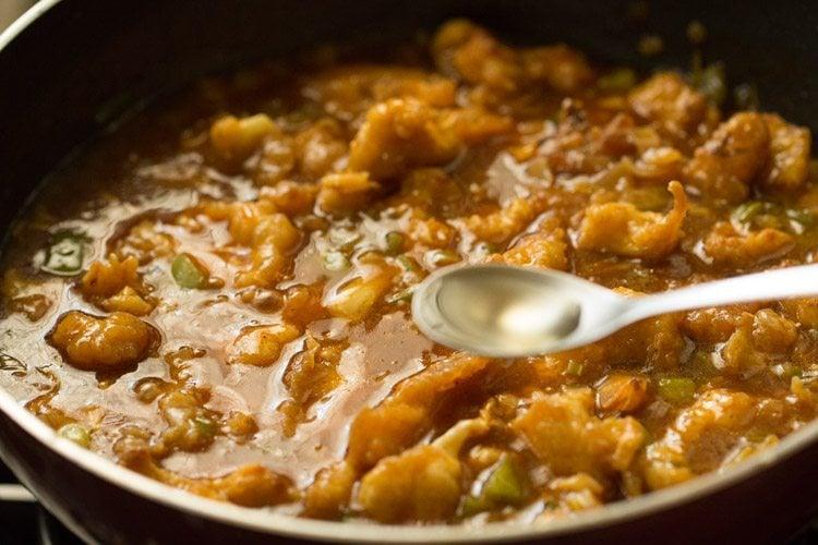 gobi manchurian gravy recipe