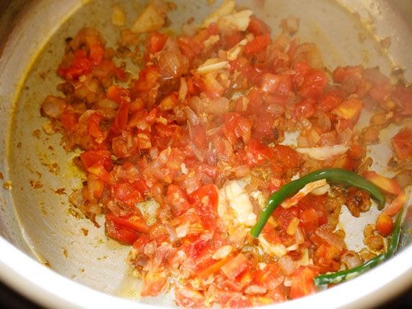 sautéed tomatoes