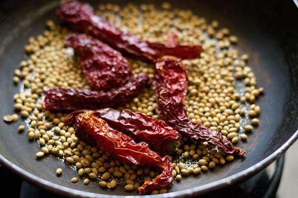making masala for kadai paneer recipe