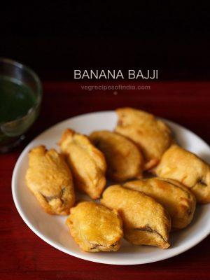 raw banana bajji recipe