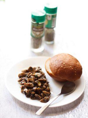 garlic mushroom recipe, italian garlic mushroom recipe