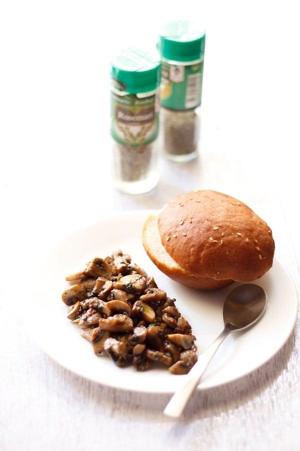 italian garlic mushroom recipe