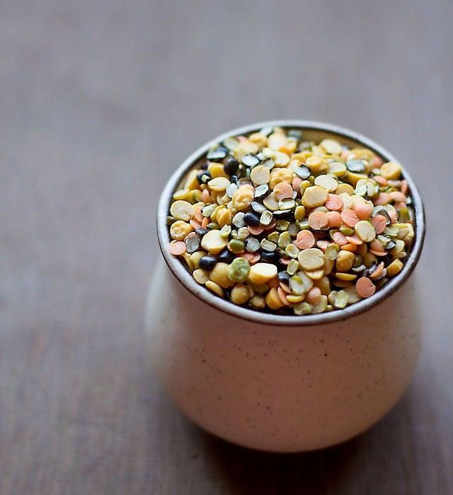 five mixed dal - panchmel dal recipe