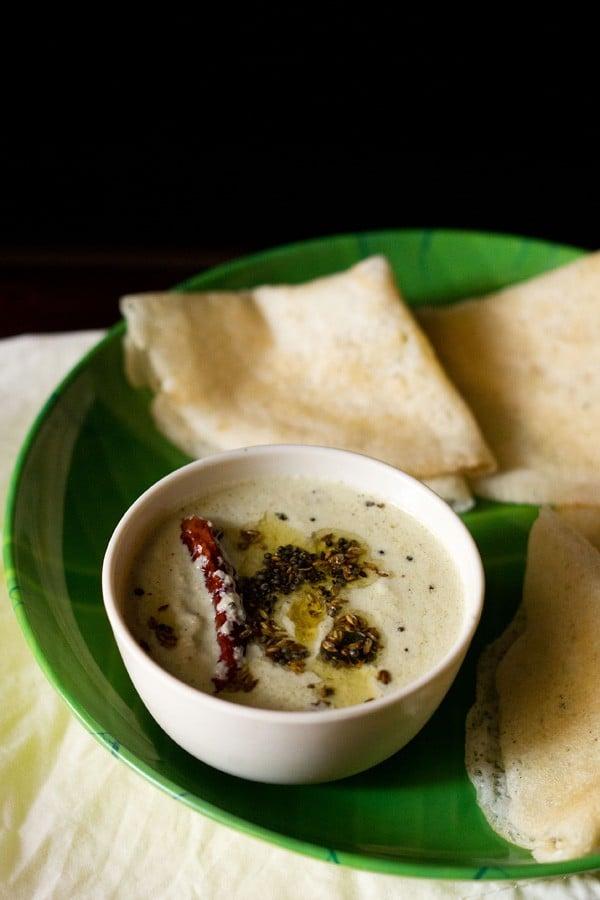 nariyal chutney recipe