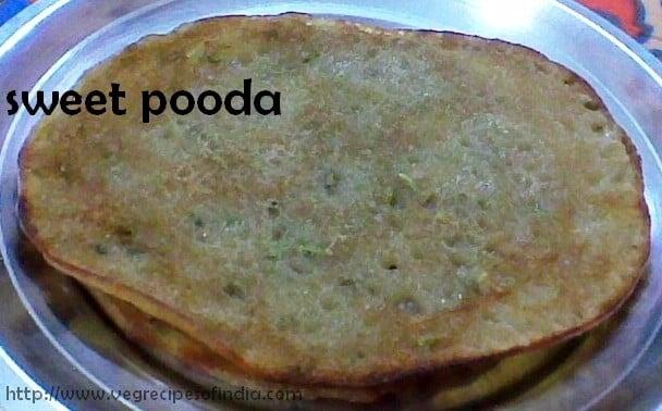 Sweet Pooda Puda Recipe, Punjabi Sweet Pooda Recipe
