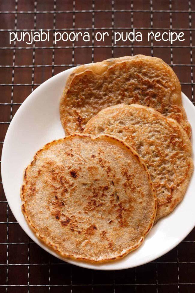 punjabi poora/puda recipe