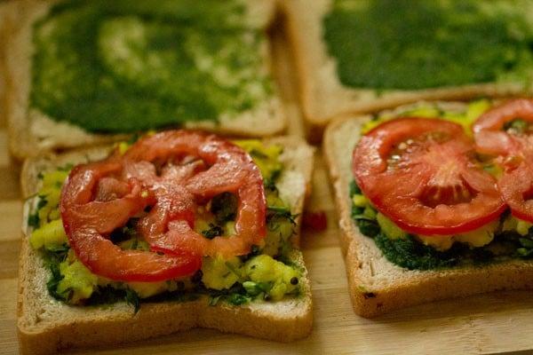 tomatoes for mumbai masala toast sandwich recipe