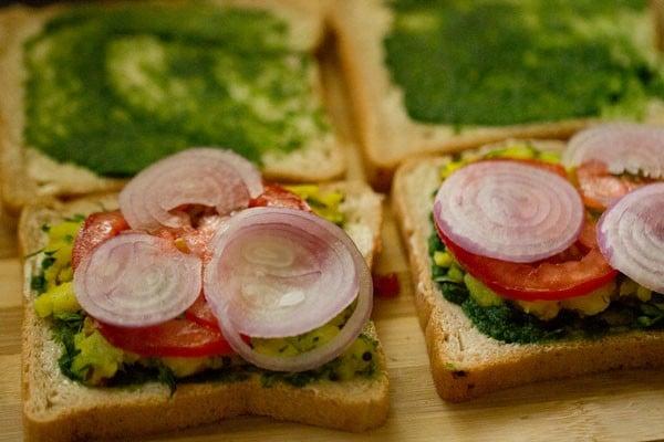 onions for mumbai masala toast sandwich recipe