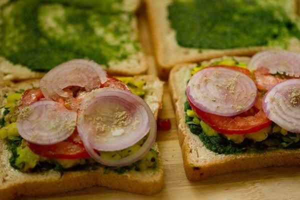 chaat masala for mumbai masala toast sandwich recipe