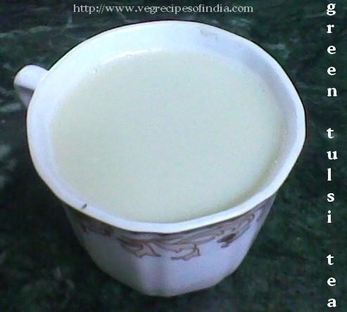 Green Tulsi Tea