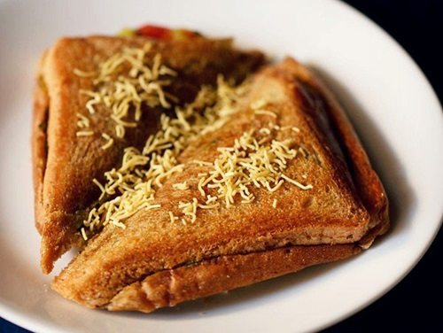 how to make toast sandwich in hindi