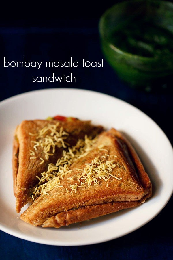 bombay masala toast sandwich recipe, how to make mumbai toast sandwich recipe