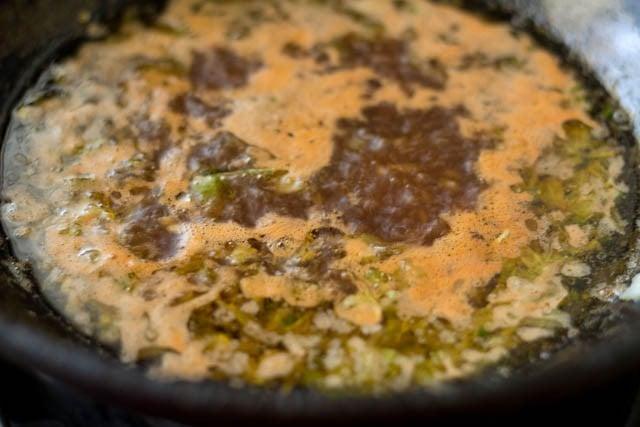 soy sauce for preparing paneer manchurian recipe