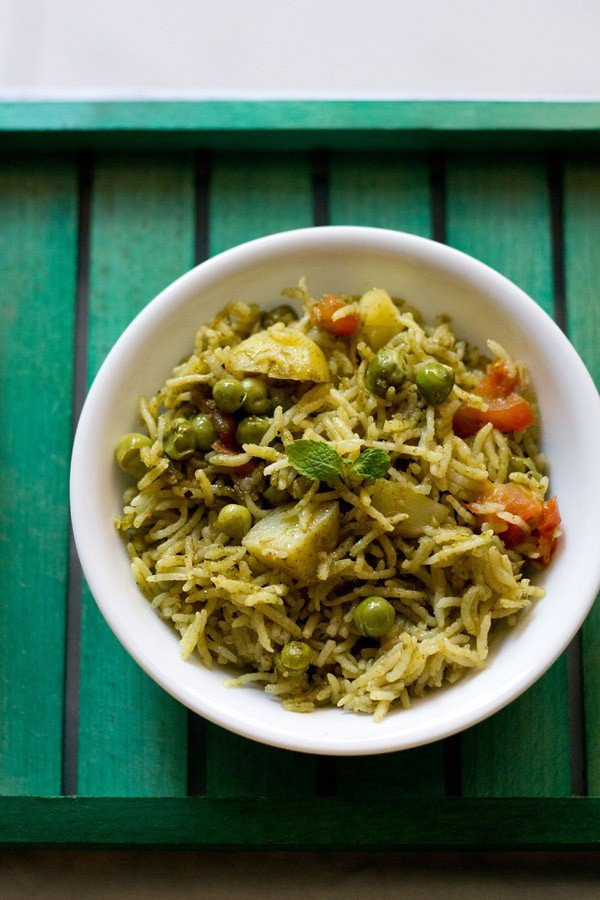 pudina-pulao-recipe