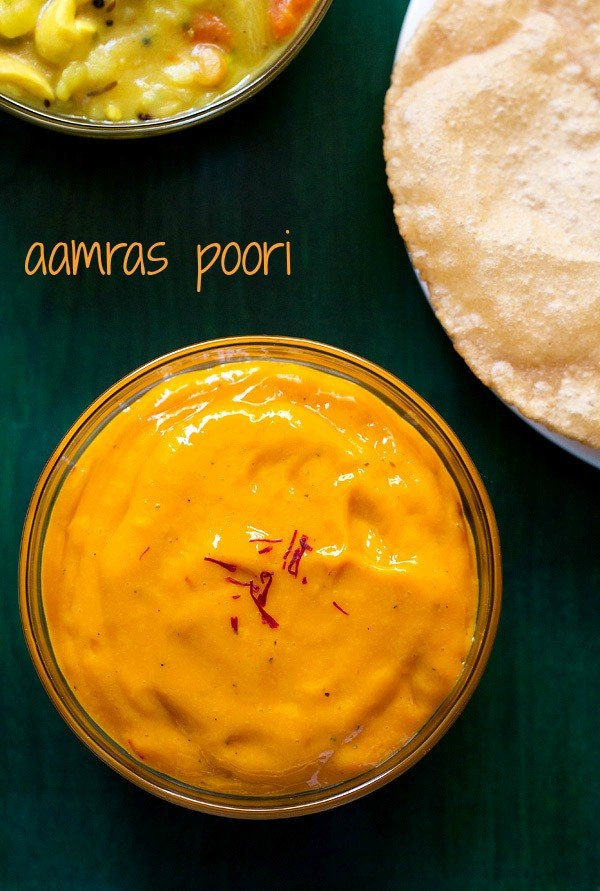 aamras recipe, aamras